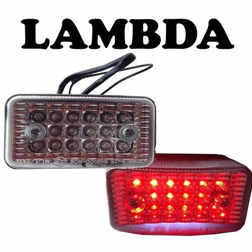 Clear LED Tail Light Assembly for Honda CT110 Posties