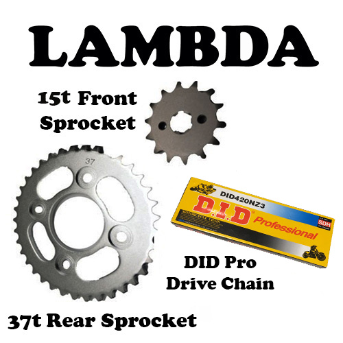 DID Pro Chain and Sprocket 15t honda nbc110