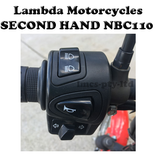 honda nbc110 lights horn indicators switch