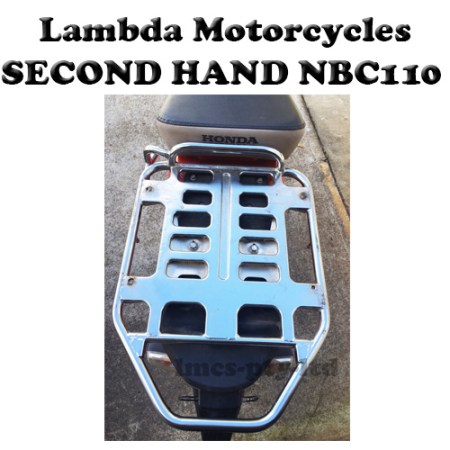 honda nbc110 second hand rear rack