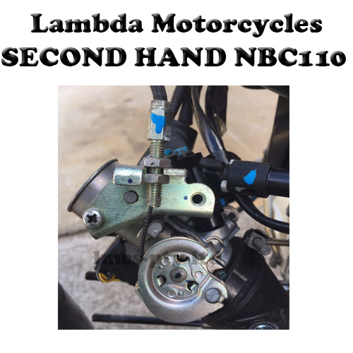 nbc110 second hand throttle body