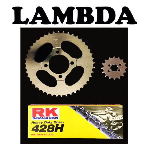 pre99 chain and sprocket rk chain ct110