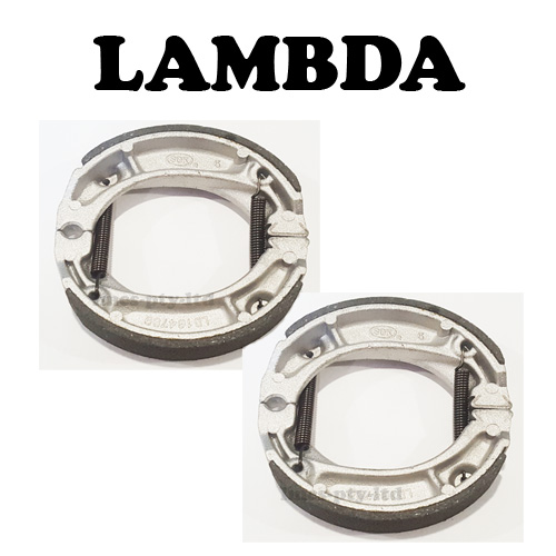 Standard Front and Rear Brake Shoes for Pre -98 Postie Bikes