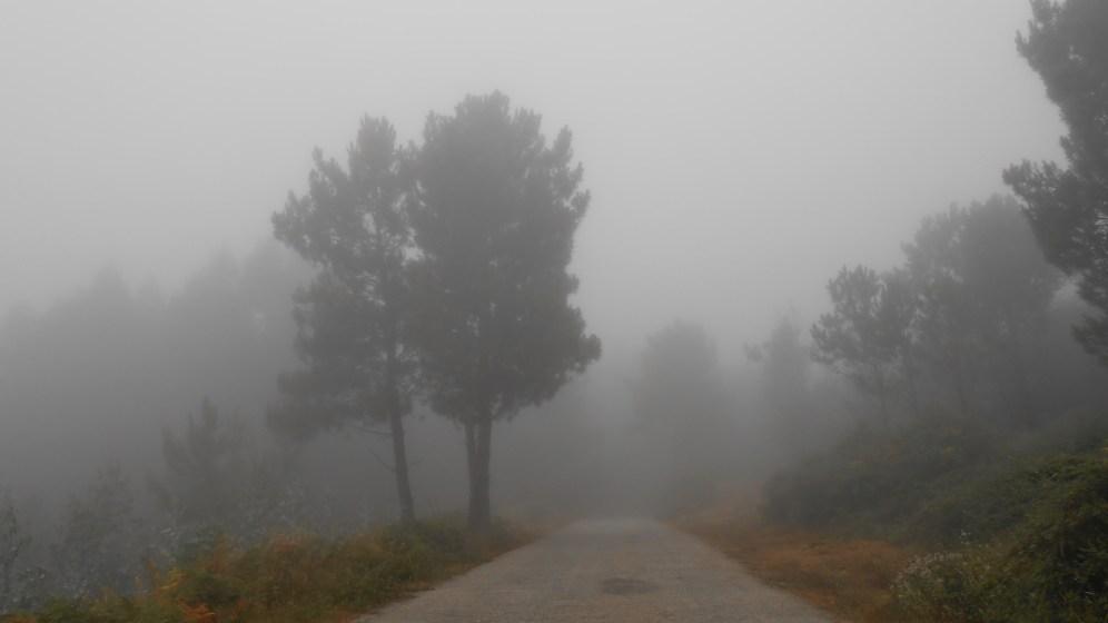 Arriving at Noninha... :(