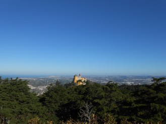 Pena's Palace, the ocean, Mafra, etc. What a view!