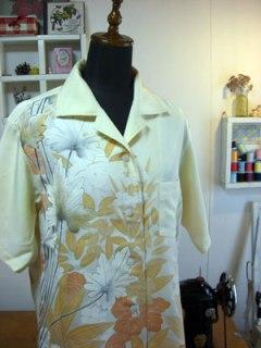 ビンテージな着物リメイクアロハシャツ的お話綴ります。
