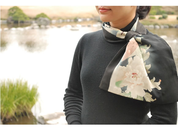 着物リメイクブログ@10月からご相談急増…着物リメイクマフラーに関して