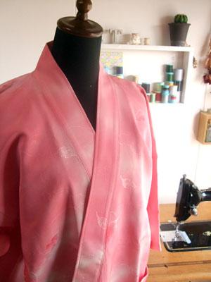 着物リメイク・着物リフォームのリクエストno.1 作務衣(さむえ)
