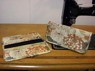 帯リメイクでの財布の作り方