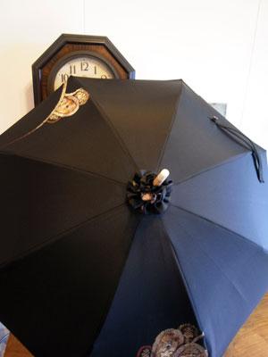 着物リメイクの日傘製作のポイント