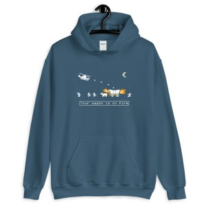 Choplifter Oregon Trail Unisex Hoodie