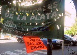 La Plata municipales ATE