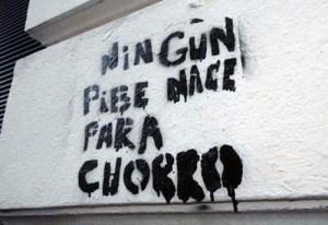 ningun pibe ... grafiti
