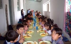 niños comedor