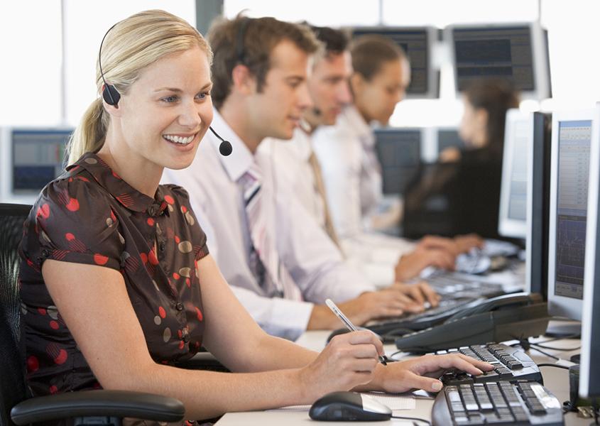 Service Client voyage d'affaires