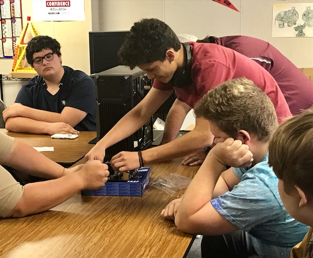 Crosstimbers Academy Students Learning Technology Gaming