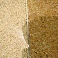Terrazzo Brass Strips: Natural highly polished brass ...