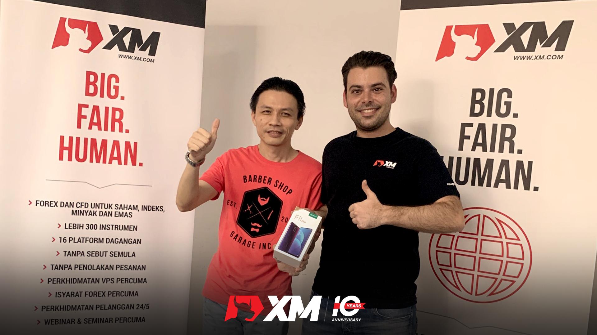 Pemenang Live Bersama XM Malaysia