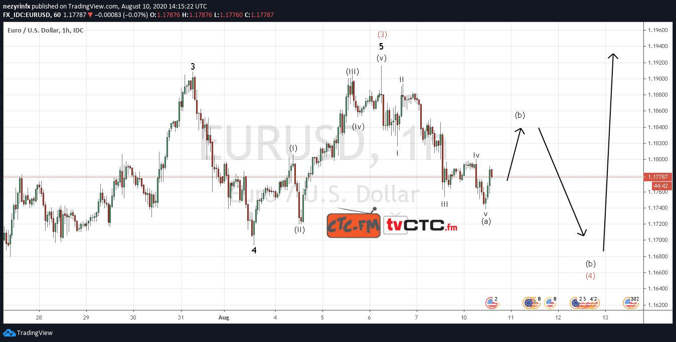 EUR/USD Wave Count Update