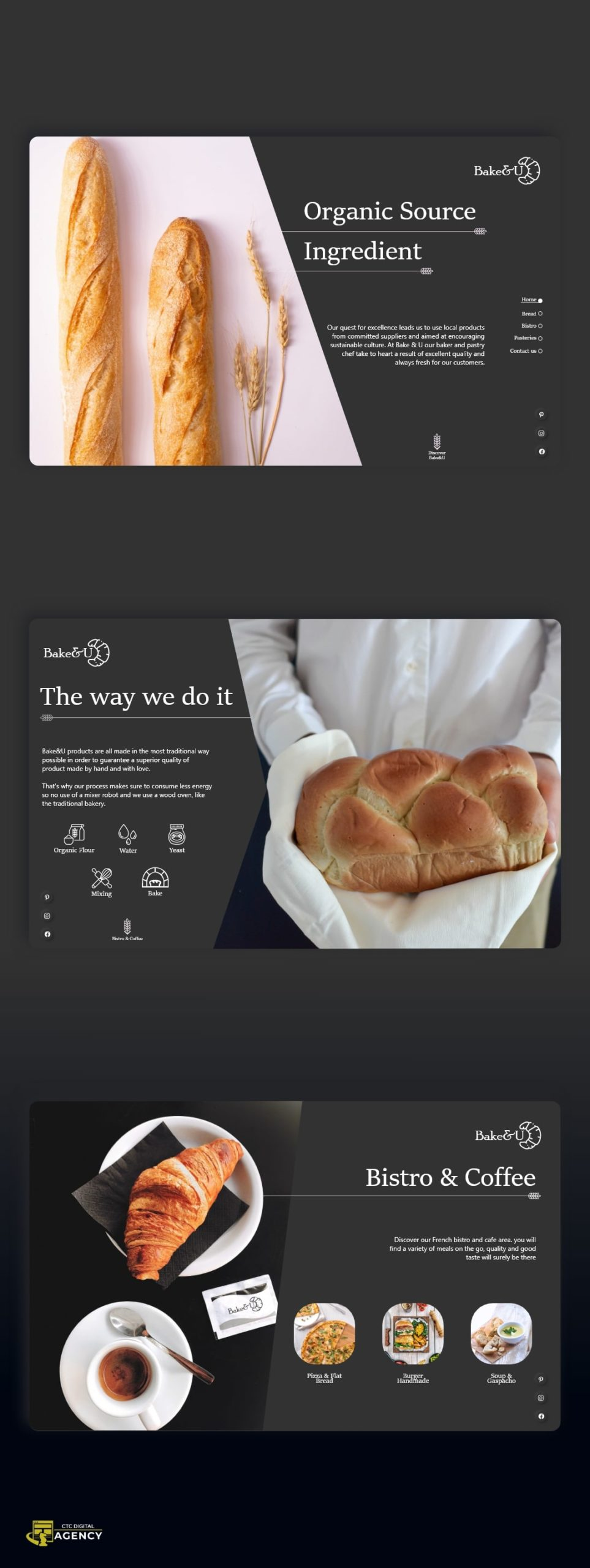 Concept Bake and U by CTC Digital Agency