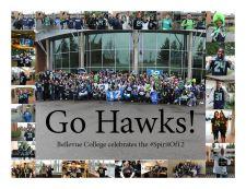 Bellevue Campus: GO HAWKS!