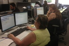 GHC's Nancy DeVerse and Stacey Savino jumped right in to UAT! Testing financial aid, managing prospects, 3Cs and more!