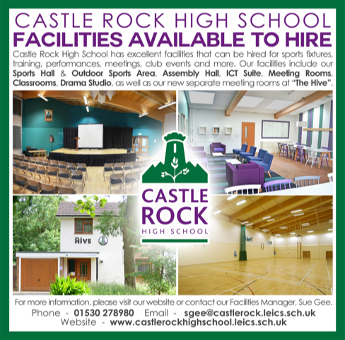 Advert for Castle Rock High School