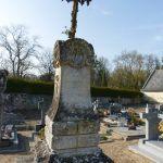 Chênehutte : cimetière  et vestiges de l'église St Pierre