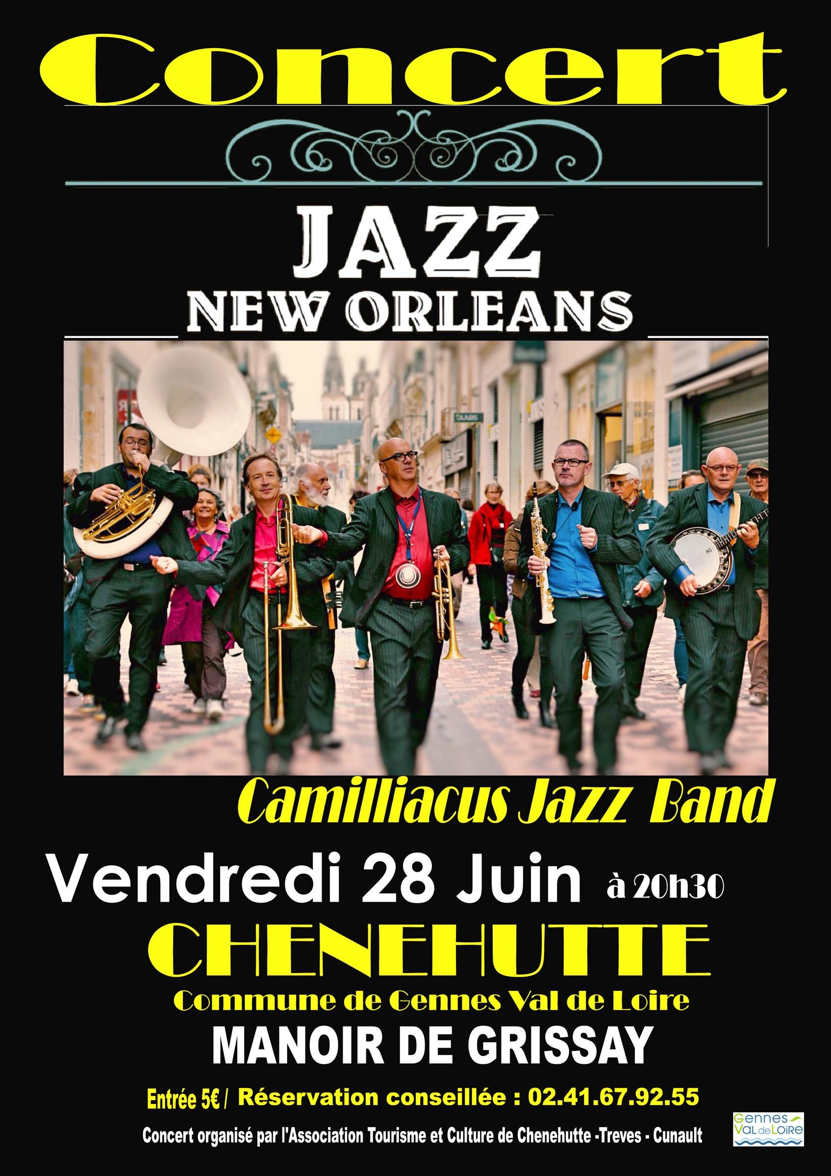 Affiche-Camilliacus-Jazz-Band