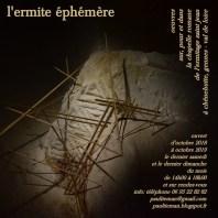 L'ermite éphémère par Paul Tieman - Ermitage St Jean