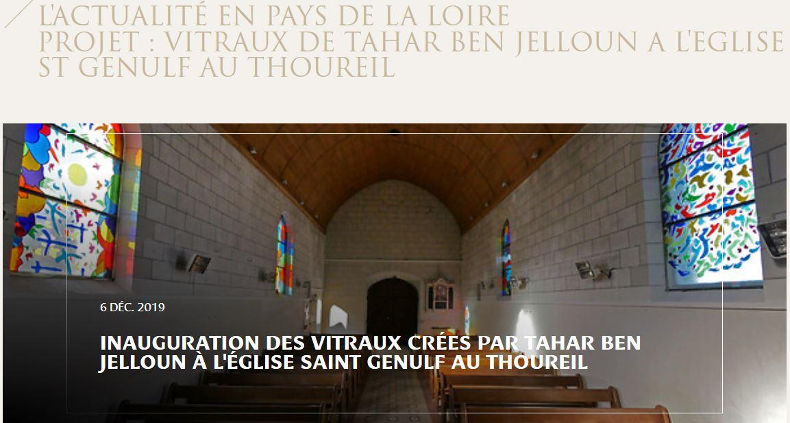 Le Thoureil vitraux fondation_patrimoine