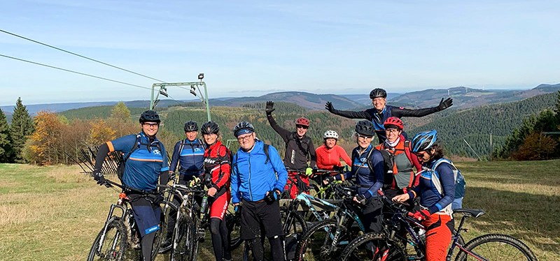 2019 oktober MTB weekend Winterberg