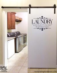 laundry room sliding doors  Design and Ideas