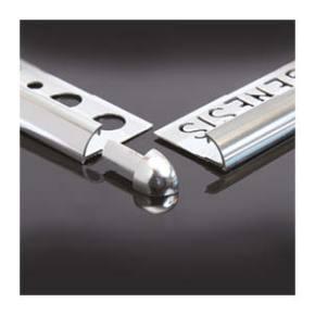 genesis aluminium quadrant tile trim