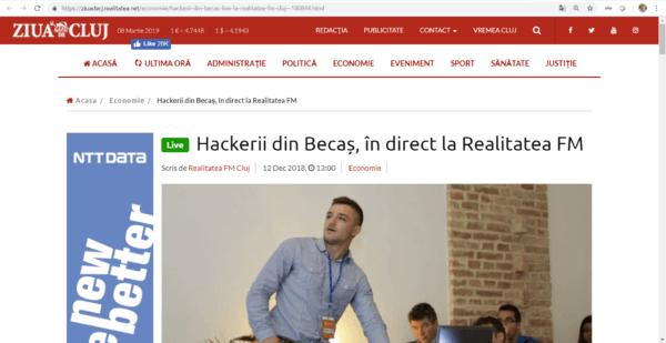 Cyber Threat Defense at Realitatea FM