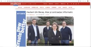 Cyber Threat Defense at Ziua de Cluj