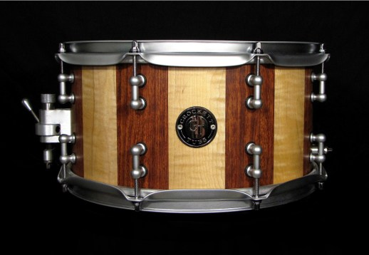 "7x13"" Bubinga / Maple w/ Split Tube Lugs"