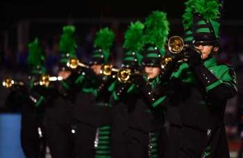 Norwalk high marching band