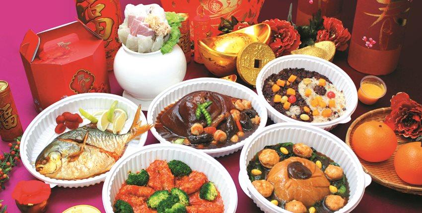 臺中飯店業強打年菜外帶 預訂一空 - 工商時報