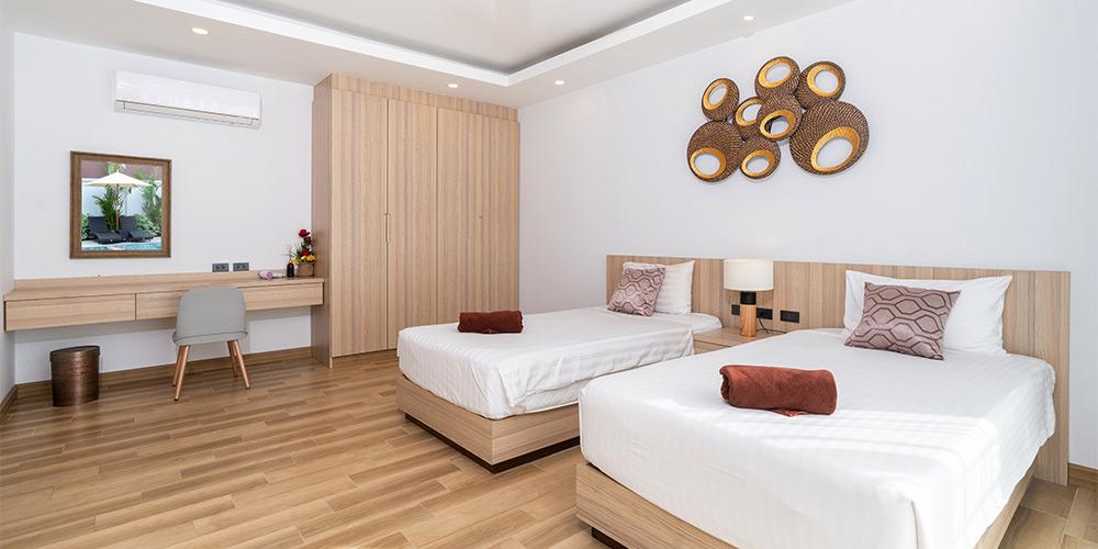 一張雙人床的房間 是double room還是twin room? - 工商時報