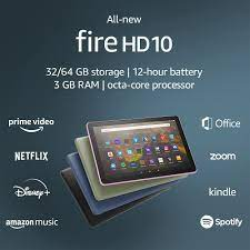 Check out The Full Specs And Price Of Amazon Fire HD 10 (2021)