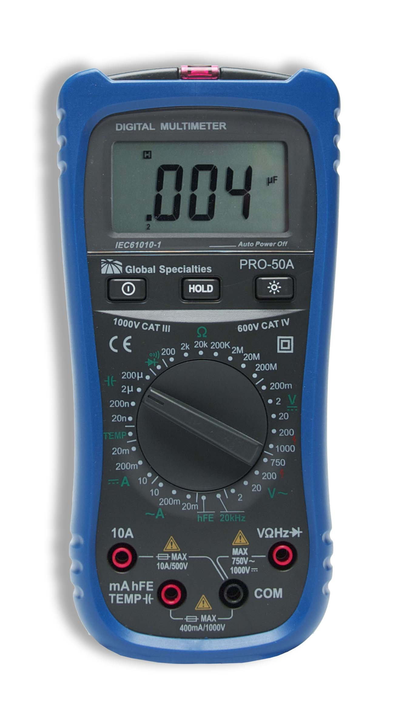 hight resolution of global specialties pro 50a handheld digital multimeter discontinued photo