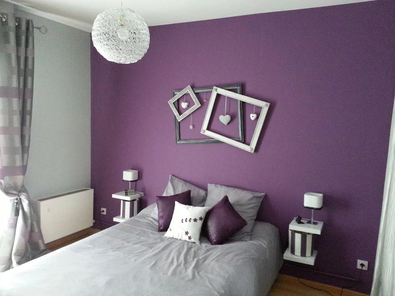 Deco Chambre Parme Et Blanc | Chambre Fille Parme Idee Deco Maison ...