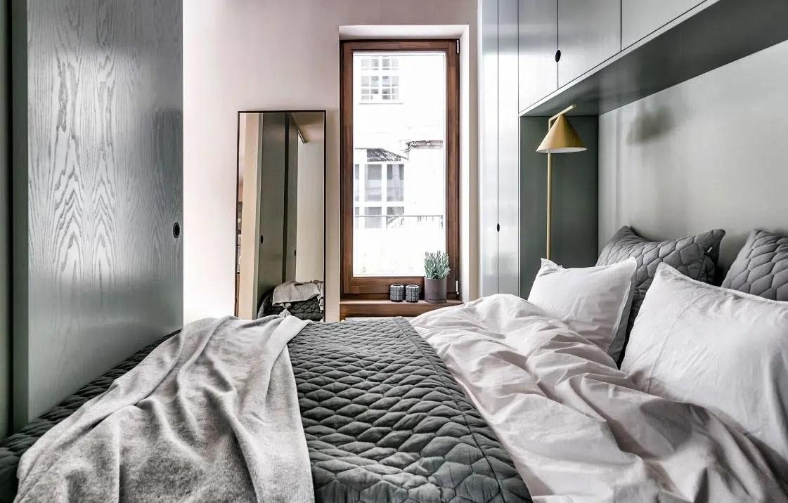 Chambre Mur Gris Meuble Noir   Parquet Quelle Couleur Choisir Plattard