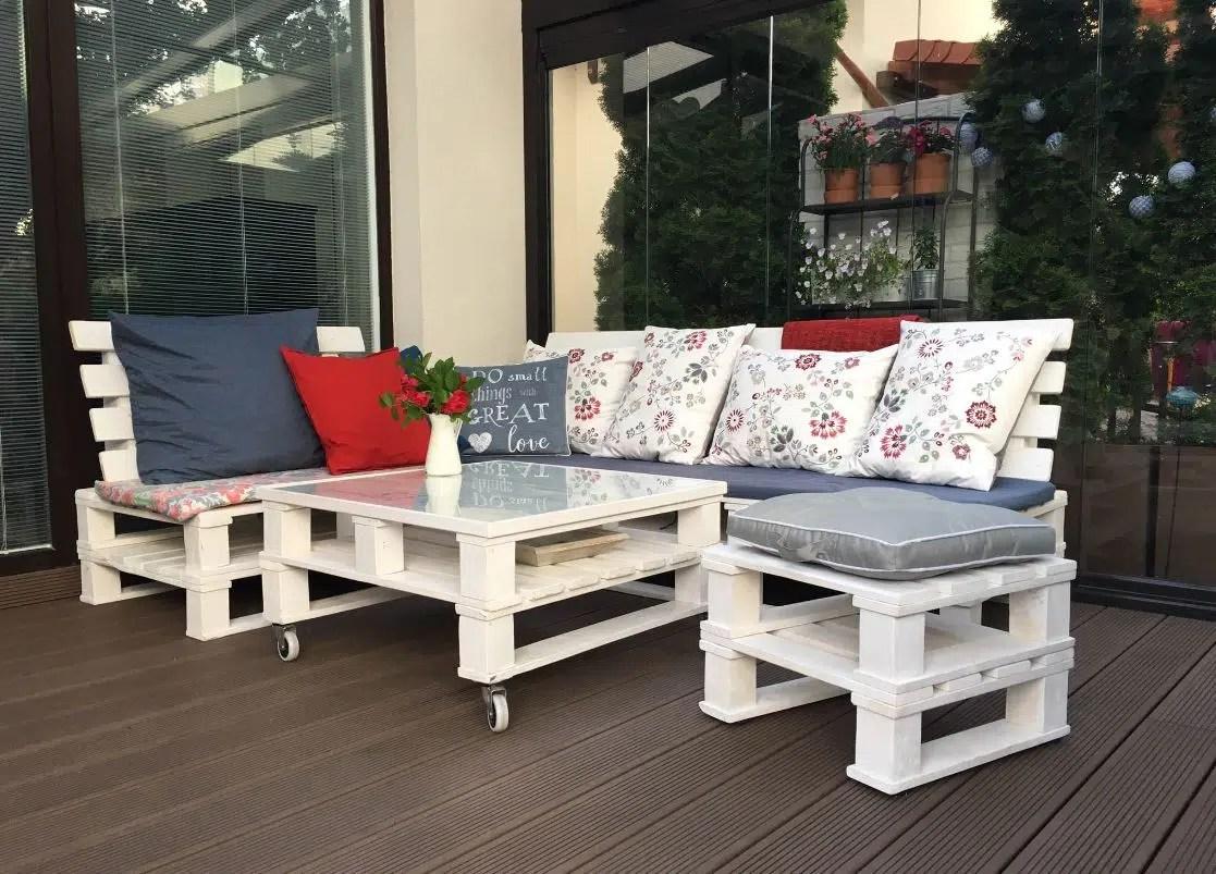 Realiser Salon De Jardin En Palette | Fabriquer Salon De Jardin En ...