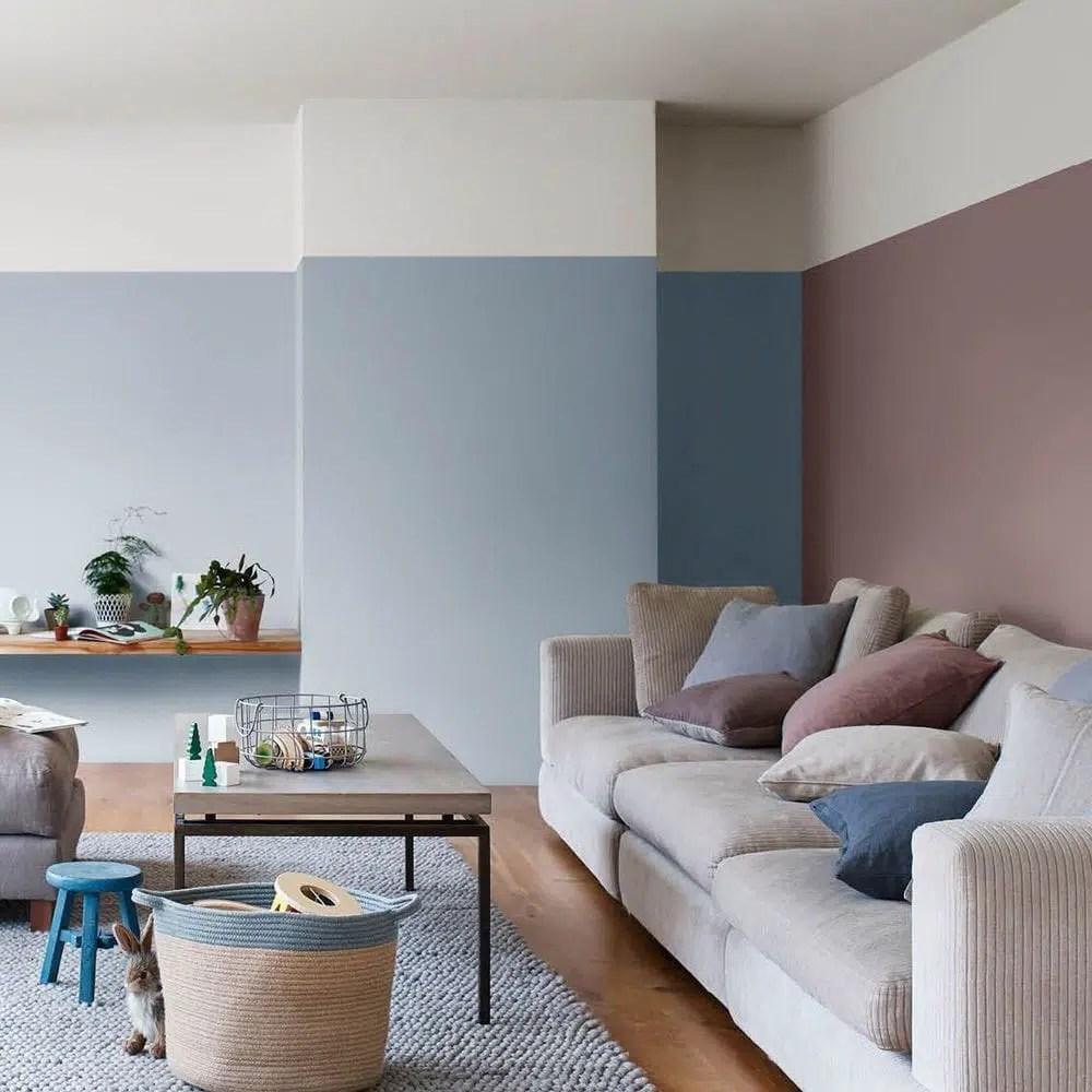 Couleur peinture salon de jardin bleu canard osez cette couleur dans votre d coration int rieure - Peindre son salon ...
