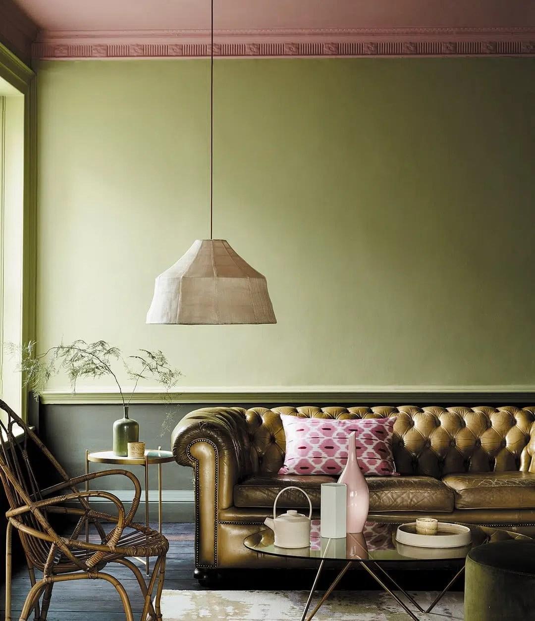 Décoration D\'intérieur Vert Olive | Fauteuil Bohème En Rotin ...