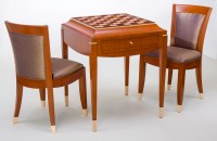 Art Deco Chess Table and Chair Set | CT Fine Furniture