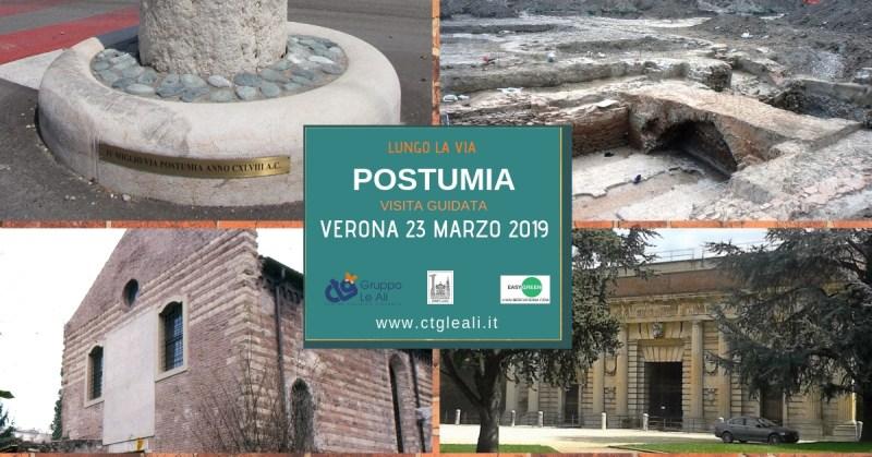 visite guidate 2019-via Postumia a Verona – Santa Lucia e Spianà sabato 23 marzo 2019