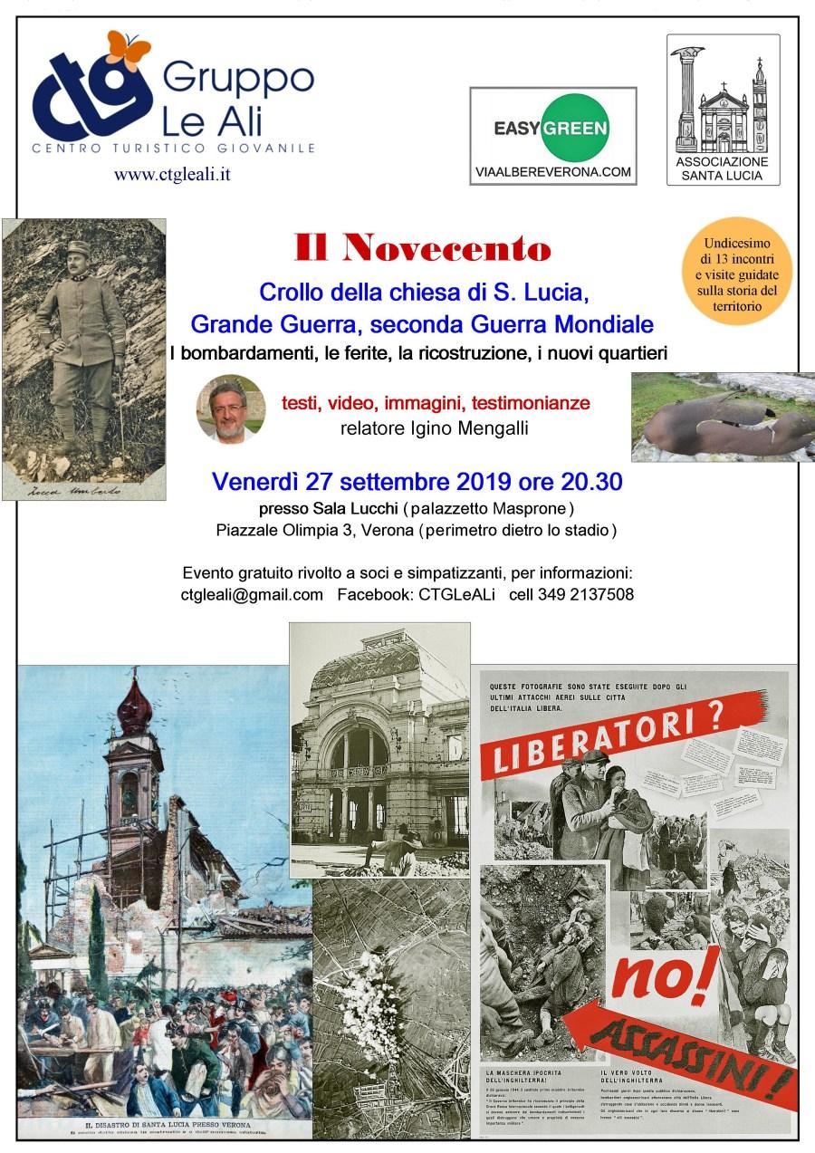 Novecento Verona centro turistico giovanile